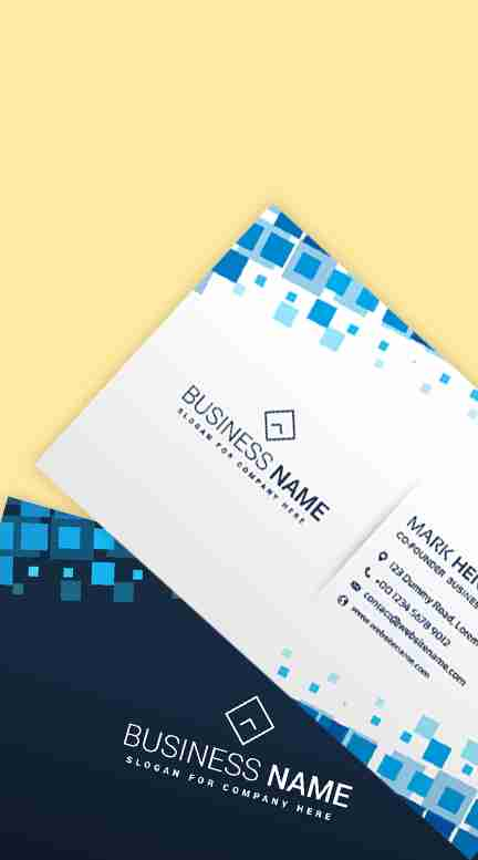 sample collection of business cards