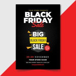 Black Friday flyer example